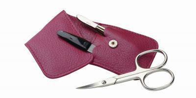 ERBE Manicure-Etui Siena pink 3tlg